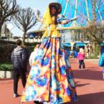 Dama colorida - Camilla